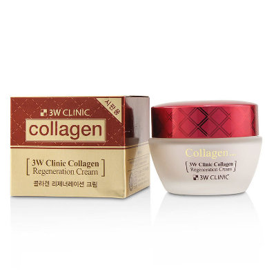 "Крем для лица ""Collagen Regeneration Cream"", 3W Clinic, 60 гр, Ю.Корея"